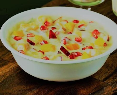 Fruit Custard By Shreemant - How to make Fruit Custard